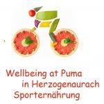 Wellbing at Puma in Herzogenaurach