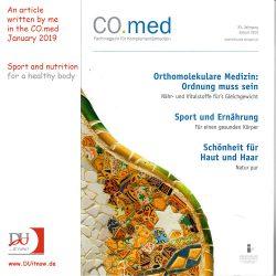 Mein Artikel CO.med – Sport und Ernährung – Für einen gesunden Körper